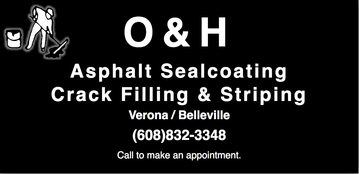 O and H Ashalt Sealcoating and Striping