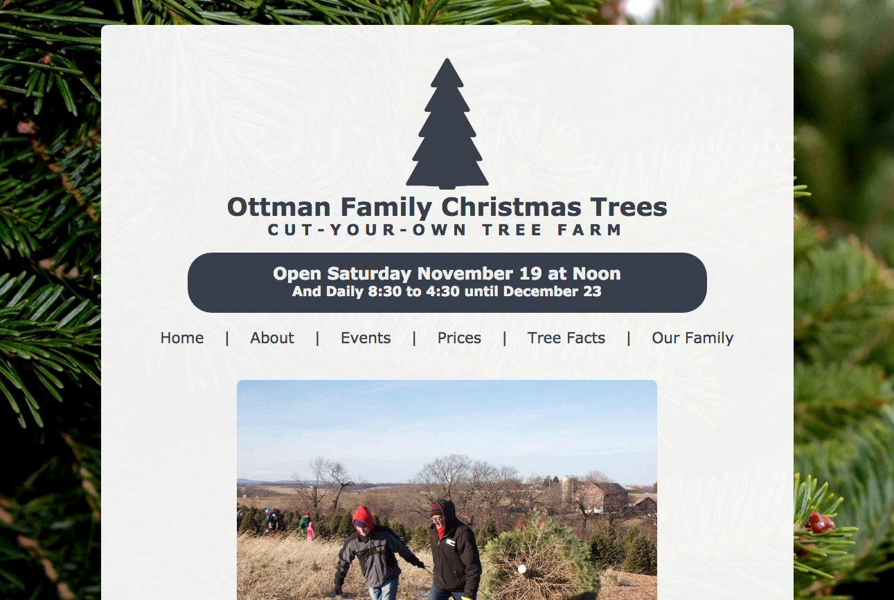 Ottman Family Christmas Tree Farm